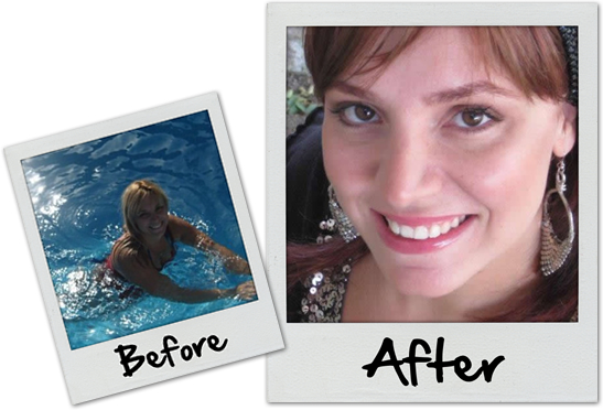 Online dating profile photos before and after (10)